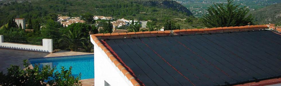 calefacci n solar climatizaci n panel solar para piscina